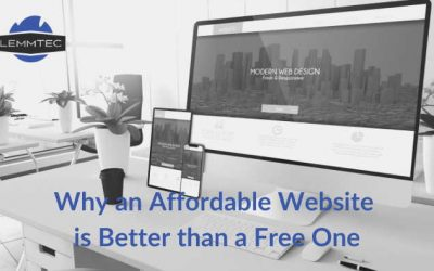 Why an Affordable Website is Better than a Free One