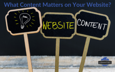 What Content Matters For Your Website?